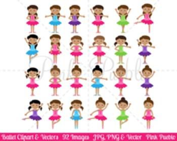 Ballerina Clipart Clip Art, Ballet Class Clip Art Clipart Vectors