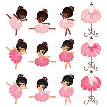Ballerina Clipart, Tutu / Ballet Clip Art