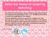 Ballerina Numeral-Quantity Matching Set 1