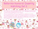 Ballerina Numeral-Quantity Matching Set 2