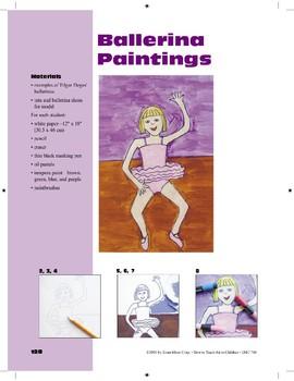 Ballerina Paintings