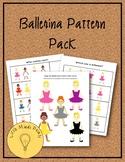 Ballerina Pre-K Pattern Pack