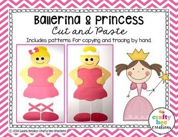 Ballerina & Princess Cut and Paste