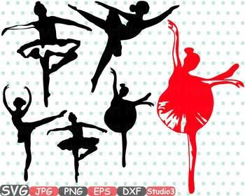 Ballet Ballerina dance slippers clipart Shoe Shoes studio svg Legs clip art 32s