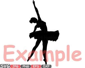 Ballet Ballerina dance slippers clipart Shoe Shoes studio svg Legs clip art 664s
