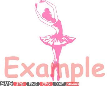 Ballet Ballerina dance slippers clipart Shoe Shoes studio svg Legs clip art 665s