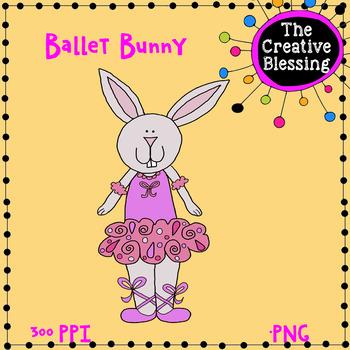 Ballet Bunny Clip Art