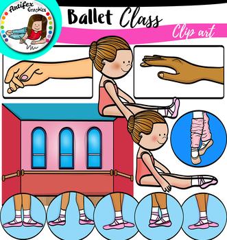Ballet Class clip art