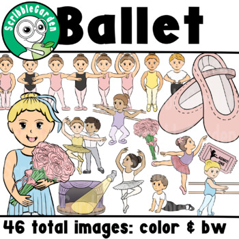 Ballet Dance Class ClipArt