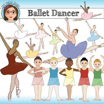 Ballet Dancer Clip Art