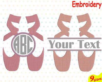 Ballet Embroidery Machine digital 4x4 5x7 hoop Stiches ballerina dance frame 98b