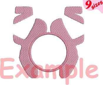 Ballet Embroidery digital 4x4 5x7 hoop Stiches ballerina dance frame 101b