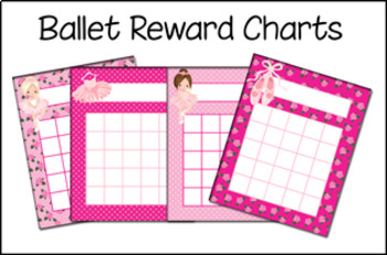 Ballet Incentive Reward Charts