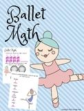 Ballet Math 1st Grade