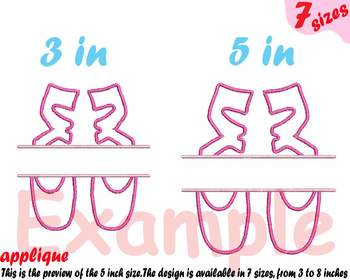 Ballet Shoes Applique Designs for Embroidery Machine Ballerina Shoes pink 4a