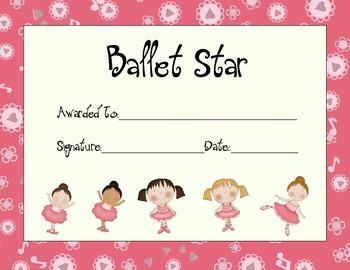 Ballet Star Award