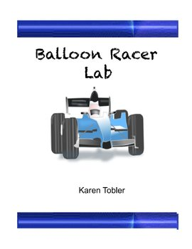 Ballon Racer Lab with pumps and cars