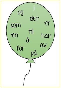 Ballong-ord 1