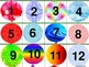 Balloon 100's Chart and Calendar Numbers
