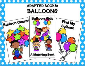 Balloon Adapted Books Bundle