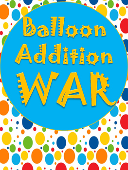 Balloon Addition War