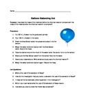 Balloon Balancing Act and the Law of Conservation of Mass