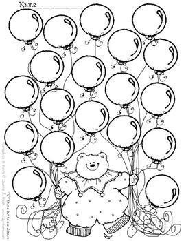 Balloon Bear // Open template.