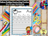 Balloon Buddies Dry Erase Handwriting Practice Book