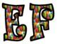 Balloon Bulletin Board Letters