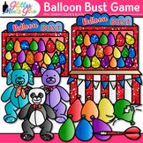 Balloon Bust Carnival Game Clip Art: Summer Graphics {Glitter Meets Glue}