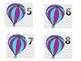 Balloon Calendar Dates