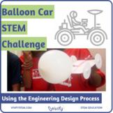 Balloon Car STEM Challenge: Engineering Design Process