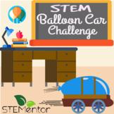 Balloon Car STEM Challenge w/ Close Reading