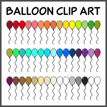 FREE Balloon Clip Art (High Resolution)