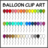 Balloon Clip Art (High Resolution)