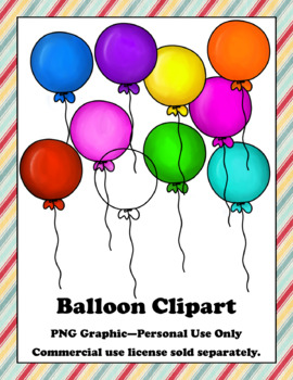 Balloon Clip Art - PNG Graphics