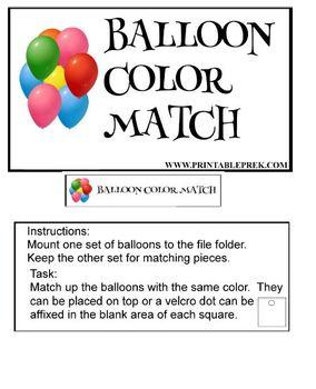 Balloon Color Match