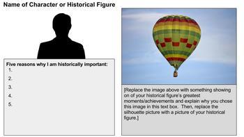 Balloon Debate Google Slide Template