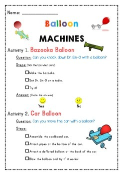 Balloon Experiments and Activities