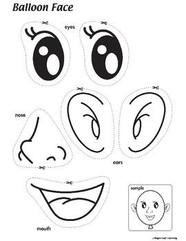 Balloon Face Craft