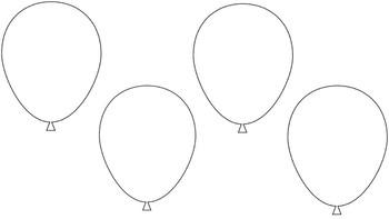 Balloon Name Activity