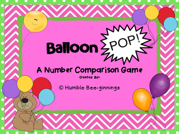 Balloon POP! Can be printed in color or B/W!