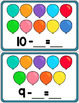 Subtraction Game - Balloon Pop