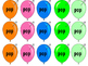 Balloon POP: Vowel Team Reading Game