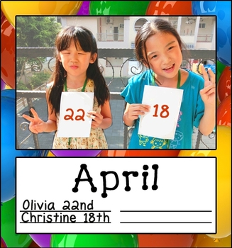 Balloon Photos Birthday Posters
