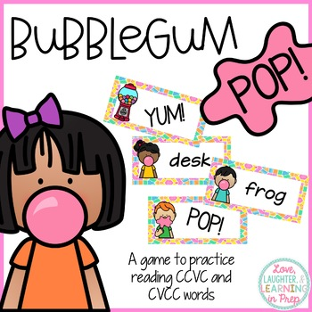 Reading Card Game {Bubblegum Pop}