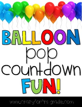 Balloon Pop Countdown