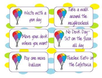 Balloon Pop Fun Motivation