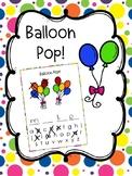 Balloon Pop Spelling Game