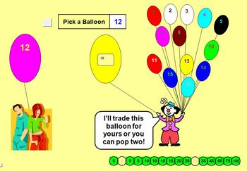 Balloon Popper Reward Activity - School License  A Pinkley Product